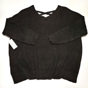 A.N.A Women's Petite Knitted Sweater